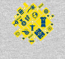 Brazil football icons Unisex T-Shirt