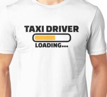 Taxi driver loading Unisex T-Shirt