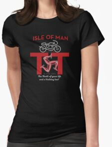 Isle of Man TT  Classic Motorcycle races Womens Fitted T-Shirt