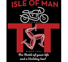 Isle of Man TT  Classic Motorcycle races Photographic Print