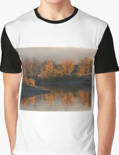 Fall Reflection Graphic T-Shirt