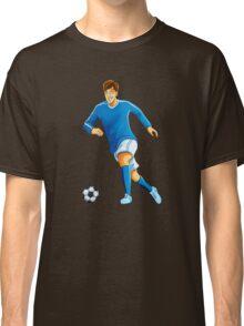 Italian player dribble a ball Classic T-Shirt