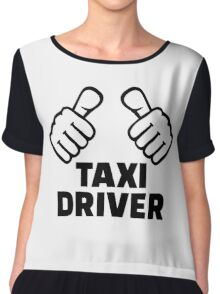 Taxi driver Chiffon Top