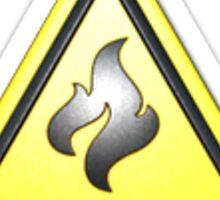 CSGO Flammable (Foil) Sticker Sticker
