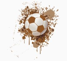 Soccer ball art One Piece - Short Sleeve