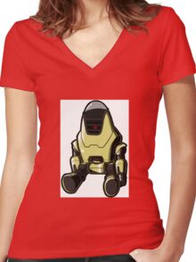 Protectron Women's Fitted V-Neck T-Shirt