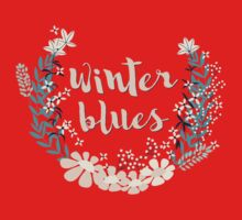 Winter Blues 004 Baby Tee