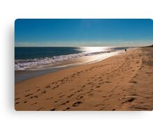 Walkaway Beach Canvas Print