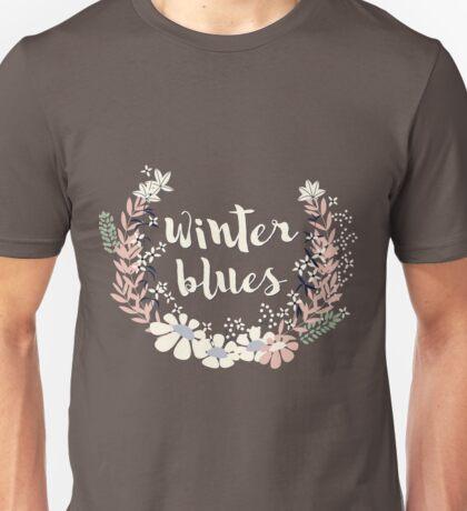 Winter Blues 003 Unisex T-Shirt