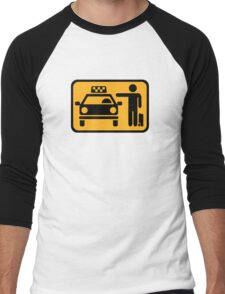 Taxi station Men's Baseball ¾ T-Shirt