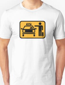 Taxi station T-Shirt