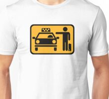 Taxi station Unisex T-Shirt