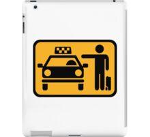 Taxi station iPad Case/Skin