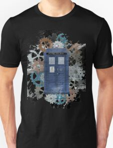 The Blue Box, Doctor Who inspired Art T-Shirt