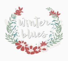 Winter Blues 001 Kids Tee