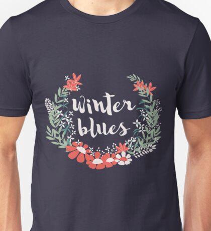 Winter Blues 001 Unisex T-Shirt