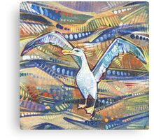 Albatross painting - 2016 Canvas Print