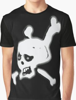 Funny Skull and crossbones  Graphic T-Shirt