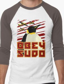 Obey SUDO Men's Baseball ¾ T-Shirt