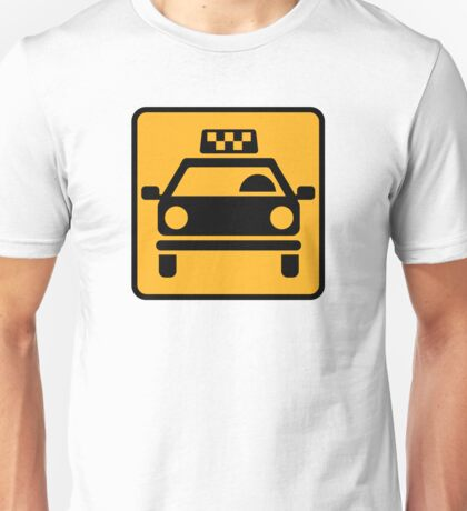 Taxi logo Unisex T-Shirt