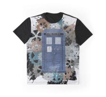 The Blue Box, Doctor Who inspired Art Graphic T-Shirt