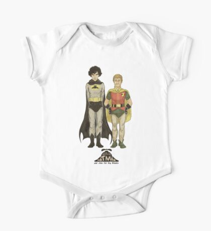 The Adventures of Hat-man and John the Boy Wonder One Piece - Short Sleeve