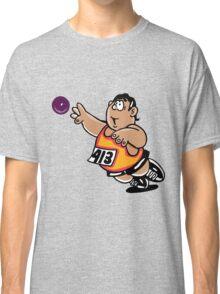 Hammer throw sport cartoon art Classic T-Shirt