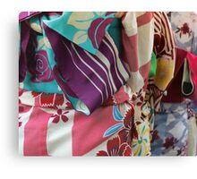 Rainbow Kimono Canvas Print