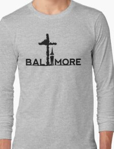 Justice For Gray Long Sleeve T-Shirt