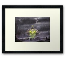 Electric Sky (2nd run - 18 left!) Framed Print