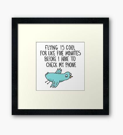 The Magic of Flying Framed Print