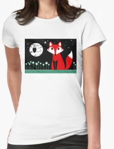 FOX MOON Womens Fitted T-Shirt