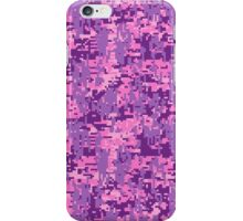 Girly Fuchsia Digital Camo iPhone Case/Skin