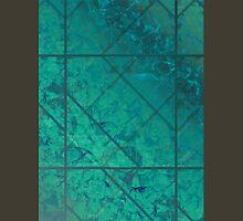Green Marble Texture Unisex T-Shirt