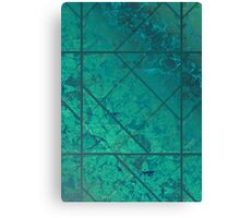 Green Marble Texture Canvas Print