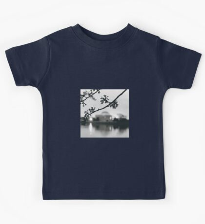 Cherry Blossoms at the DC Tidal Basin Kids Tee