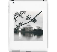 Cherry Blossoms at the DC Tidal Basin iPad Case/Skin