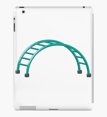 Slides parallel bars iPad Case/Skin