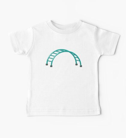 Slides parallel bars Baby Tee