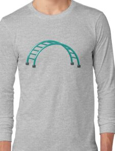 Slides parallel bars Long Sleeve T-Shirt