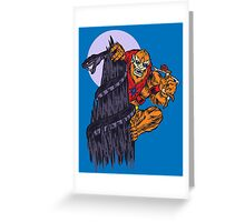 The Beast Of Snake Mountain Greeting Card