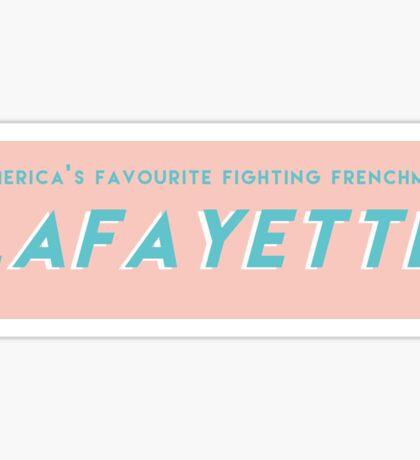 Lafyette Sticker