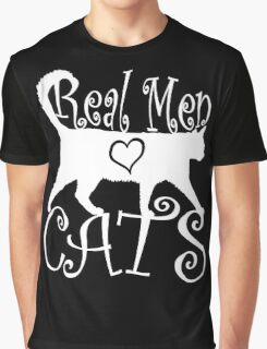 Real Men Love Cats Graphic T-Shirt