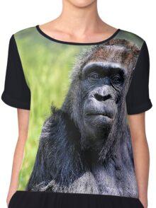 Old Gorilla IV Women's Chiffon Top