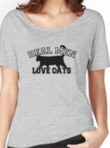 Real Men Love Cats Women's Relaxed Fit T-Shirt