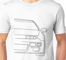 300zx outline - black Unisex T-Shirt