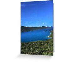 River in Croatia Greeting Card