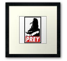Prey - Praise The Sun Framed Print