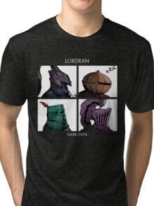 Lordran Dark Days character Tri-blend T-Shirt