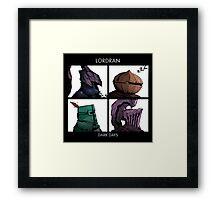 Lordran Dark Days character Framed Print